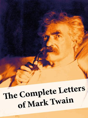 cover image of The Complete Letters of Mark Twain