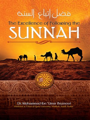 cover image of The Excellence of Following the Sunnah