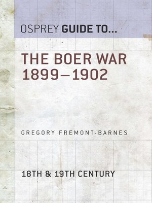 cover image of The Boer War 1899–1902