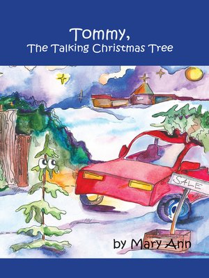 cover image of Tommy, the Talking Christmas Tree
