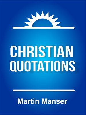 cover image of Christian Quotations