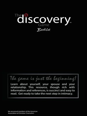 cover image of The Discovery Game Booklet