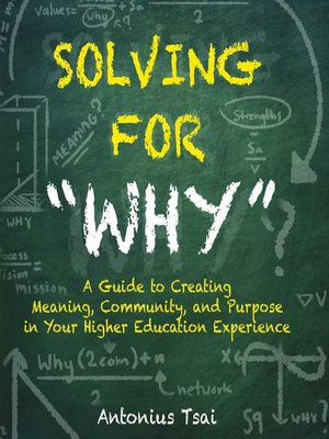 "cover image of Solving For ""Why"""