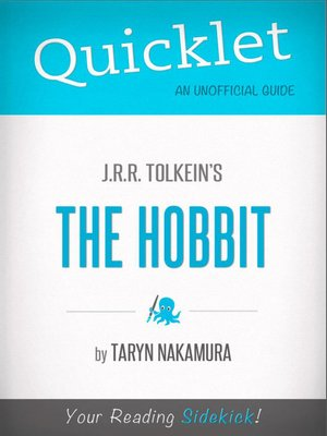 cover image of Quicklet on J. R. R. Tolkien's the Hobbit