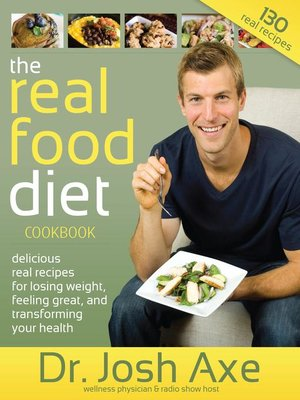 cover image of The Real Food Diet Cookbook