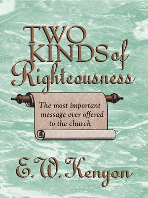 cover image of The Two Kinds of Righteousness