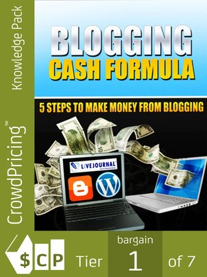 cover image of Blogging Cash Formula