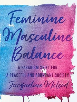 cover image of Feminine Masculine Balance
