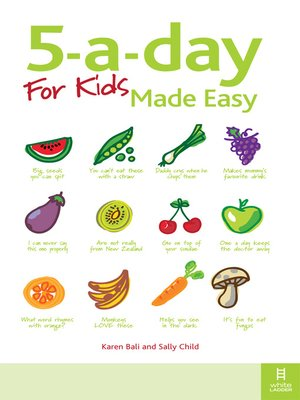 cover image of 5-a-day For Kids Made Easy