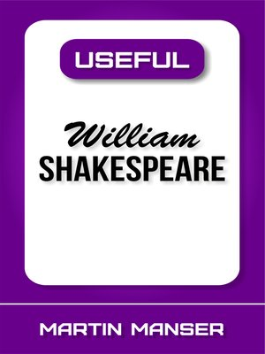 cover image of Useful William Shakespeare