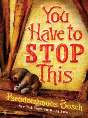 cover image of You Have To Stop This