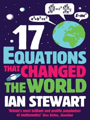 cover image of Seventeen Equations that Changed the World