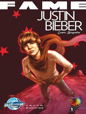 cover image of Justin Bieber, Comic Biografía