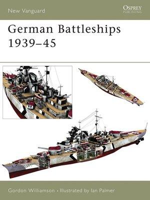 cover image of German Battleships 1939-45
