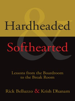 cover image of Hardheaded and Softhearted