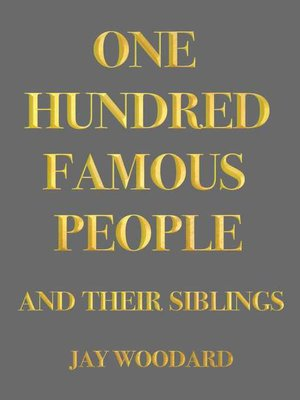 cover image of One Hundred Famous People