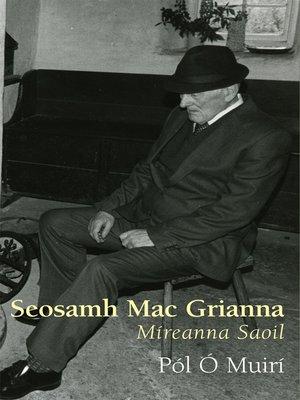 cover image of Seosamh Mac Grianna