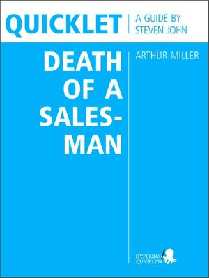 cover image of Quicklet on Arthur Miller's Death of a Salesman (CliffNotes-like Book Summary and Analysis)