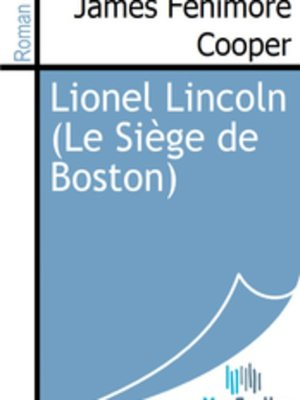 cover image of Lionel Lincoln