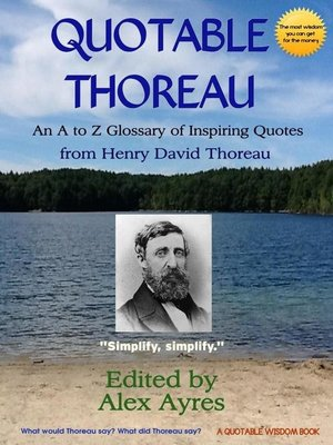 cover image of Quotable Thoreau