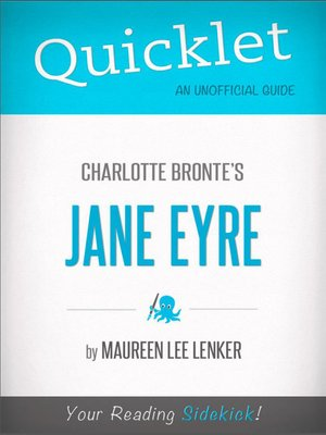 cover image of Quicklet on Charlotte Bronte's Jane Eyre