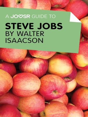 cover image of A Joosr Guide to... Steve Jobs by Walter Isaacson