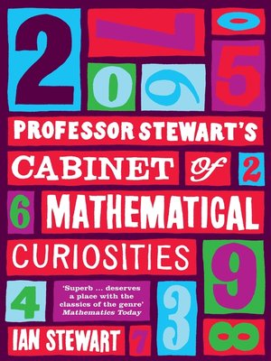 cover image of Professor Stewart's Cabinet of Mathematical Curiosities