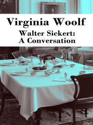 cover image of Walter Sickert