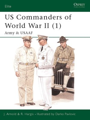 cover image of US Commanders of World War II (1)