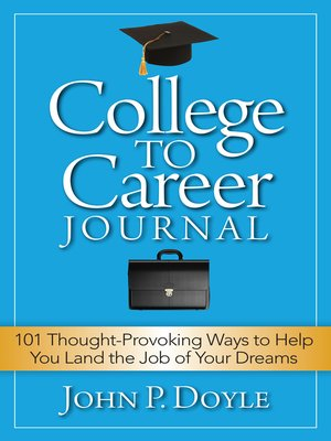 cover image of College to Career Journal