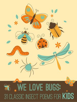 cover image of We Love Bugs