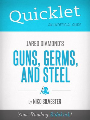 cover image of Quicklet on Guns, Germs, and Steel by Jared Diamond