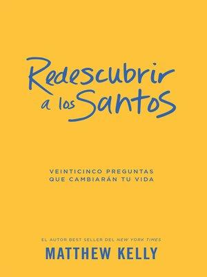 cover image of Redescubrir a Los Santos
