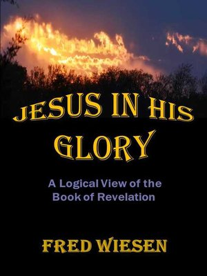 cover image of Jesus in His Glory