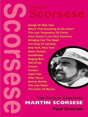 cover image of The Pocket Essential Martin Scorsese