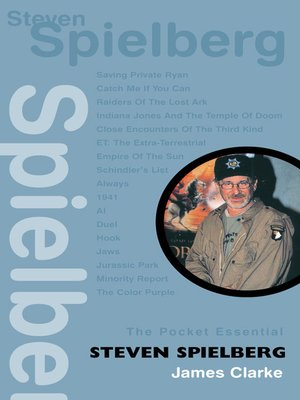 cover image of The Pocket Essential Steven Spielberg