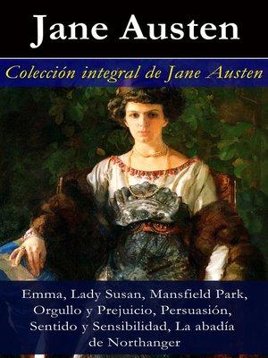 cover image of Colección integral de Jane Austen