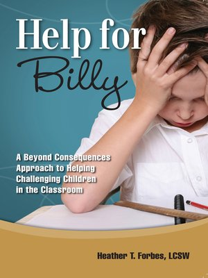 cover image of Help for Billy