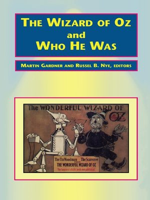 cover image of The Wizard of Oz and Who He Was