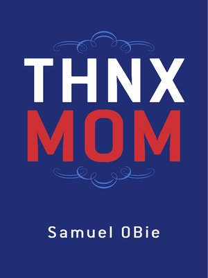 """cover image of """"THNX MOM"""""""