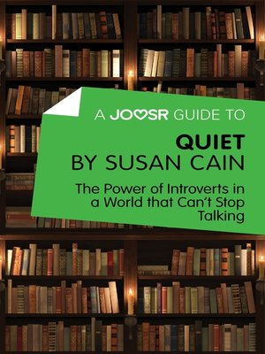 cover image of A Joosr Guide to... Quiet by Susan Cain