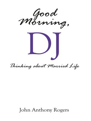 cover image of Good Morning, DJ