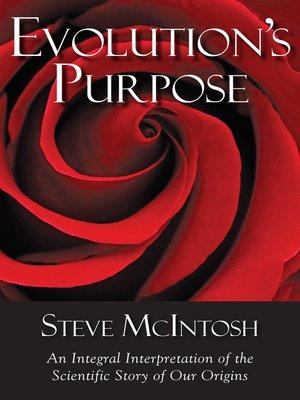 cover image of Evolution's Purpose