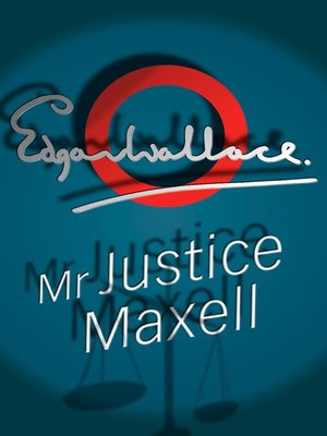 cover image of Mr Justice Maxell