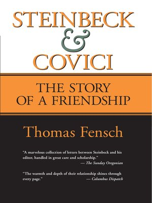cover image of Steinbeck and Covici