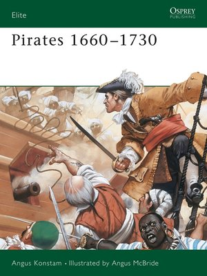 cover image of Pirates 1660-1730