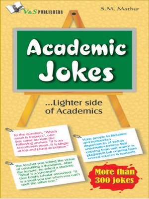 cover image of Academic Jokes
