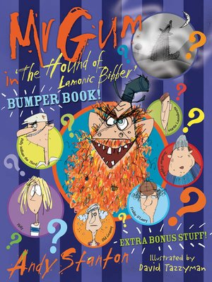 cover image of Mr Gum in 'The Hound of Lamonic Bibber' Bumper Book