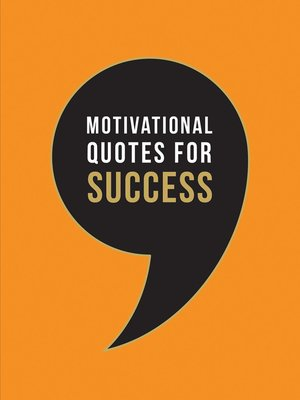 cover image of Motivational Quotes for Success