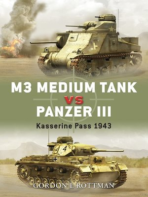 cover image of M3 Medium Tank vs Panzer III